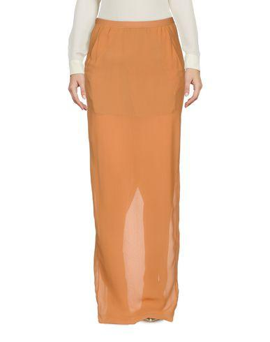 Rick Owens Maxi Skirts In Brown