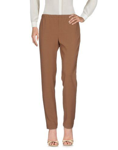 Liviana Conti Casual Pants In Brown