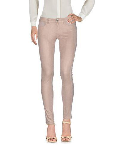 Guess Casual Pants In Light Brown