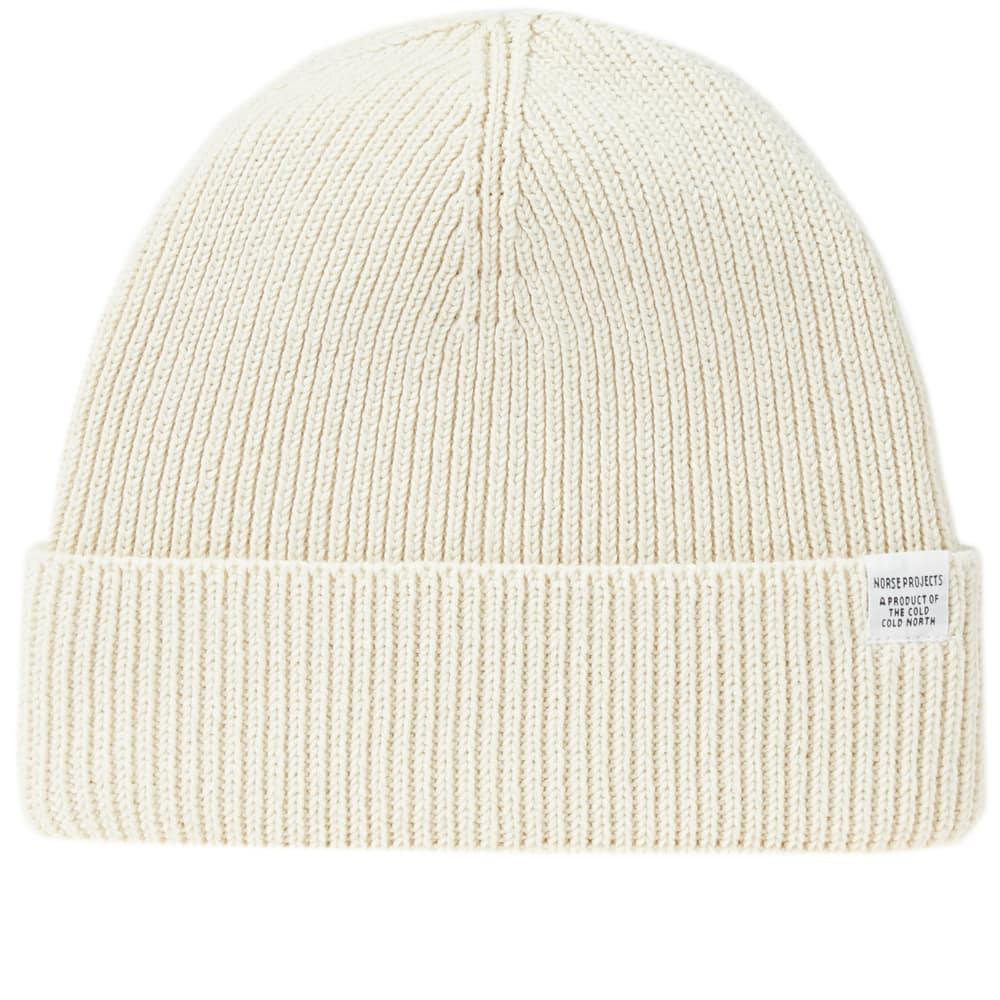 75036123f Norse Projects Cotton Watch Beanie In Neutrals | ModeSens