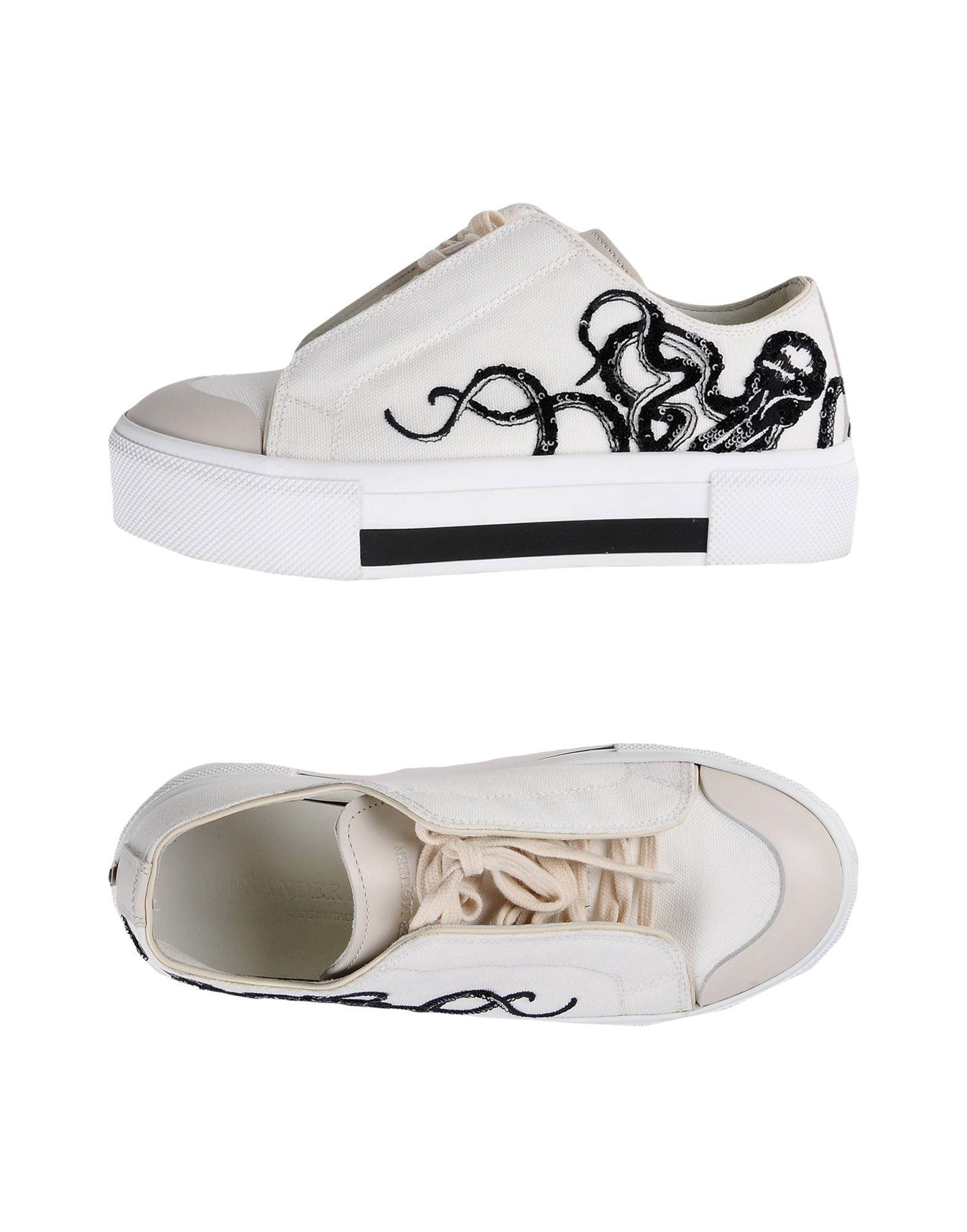 Alexander Mcqueen Sneakers In White | ModeSens