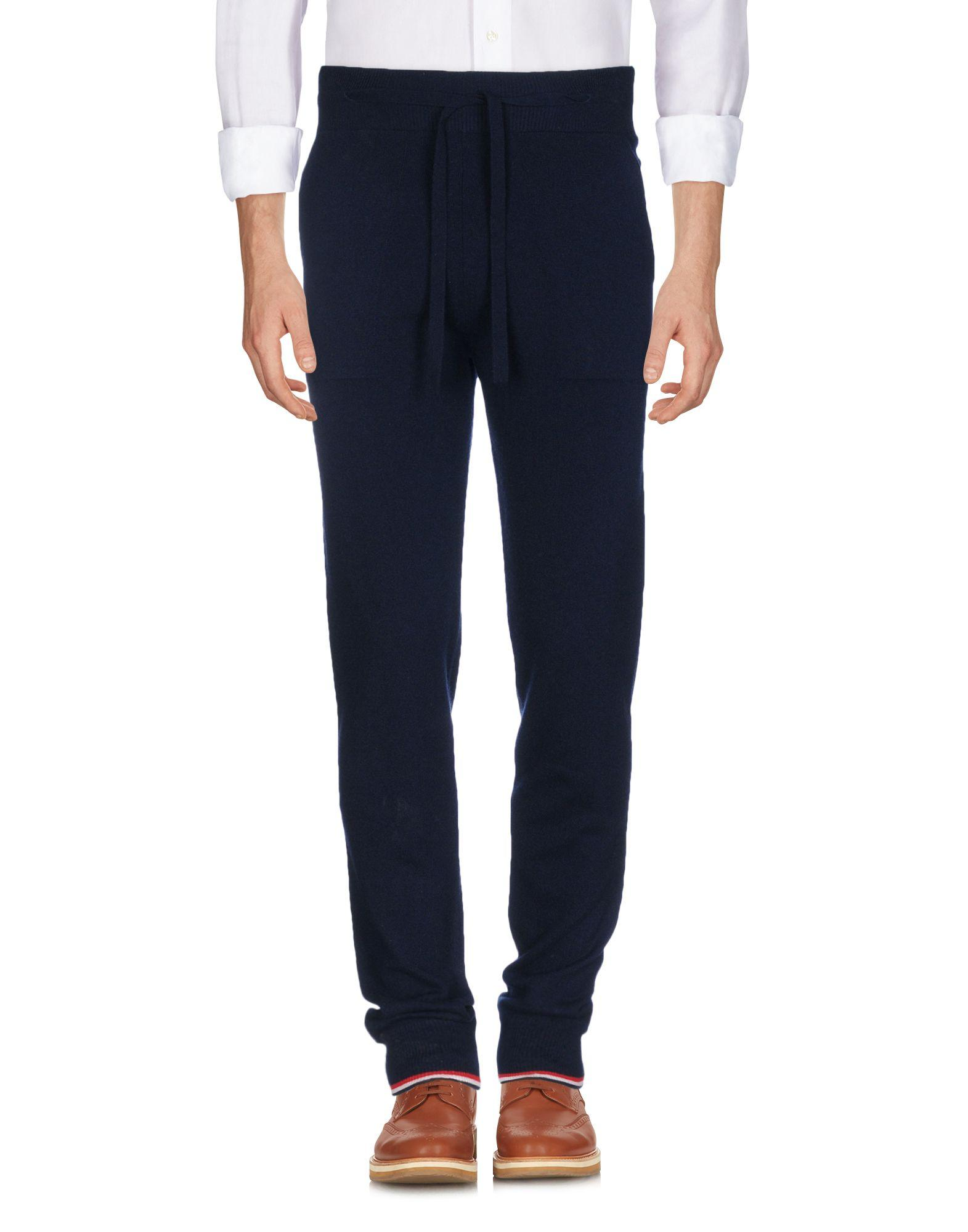Thom Browne Casual Pants In Dark Blue