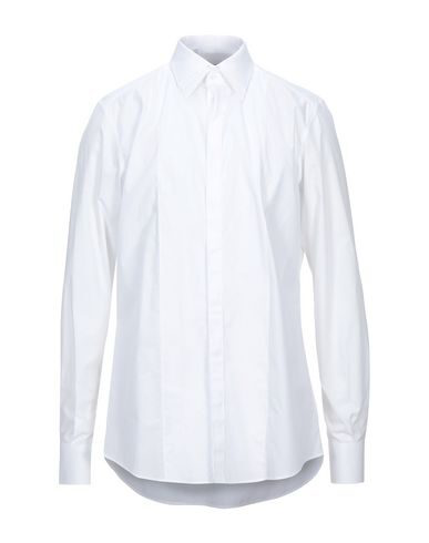 Dolce & Gabbana Solid Color Shirt In White