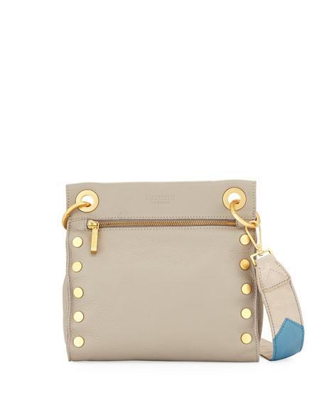 e8cca7b16 Hammitt Paul Leather Crossbody Bag In Gray | ModeSens