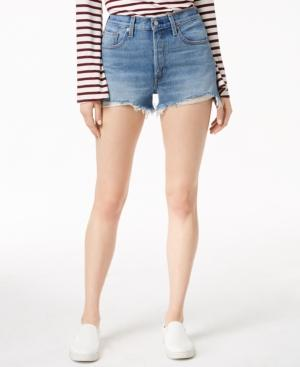 e039942402 Levi's 501 Cotton High-Rise Denim Shorts In Caught In The Middle ...
