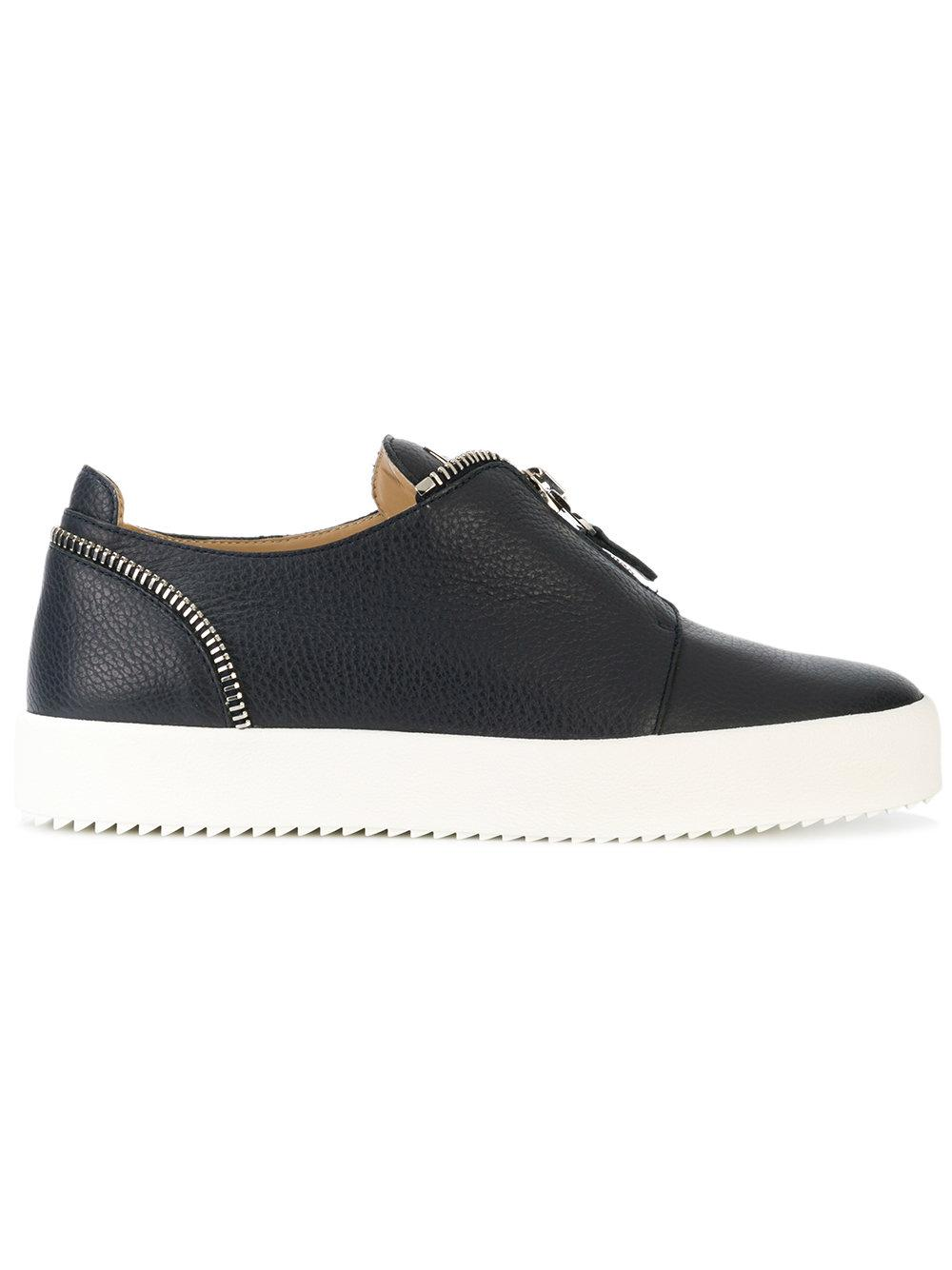 Giuseppe Zanotti Zip Detail Slip-On Sneakers