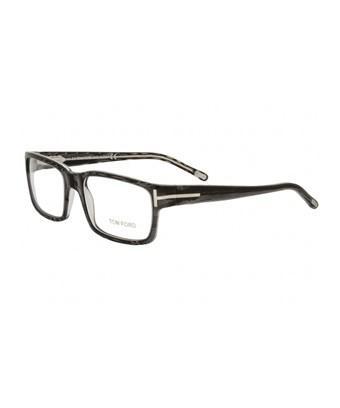 dc4dbc8baf Tom Ford Unisex Ft5013 54Mm Optical Frames In Clear Powder Black   Clear  Lenses. SIZE   FIT INFORMATION