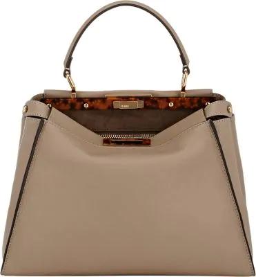 44b4d98c1938 Fendi Peekaboo Medium Tortoise Satchel Bag
