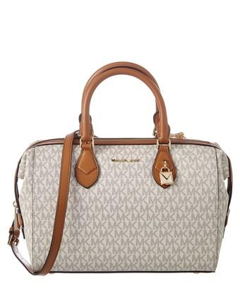 b2f18a362dd9 Michael Michael Kors Grayson Large Convertible Leather Satchel In Nocolor