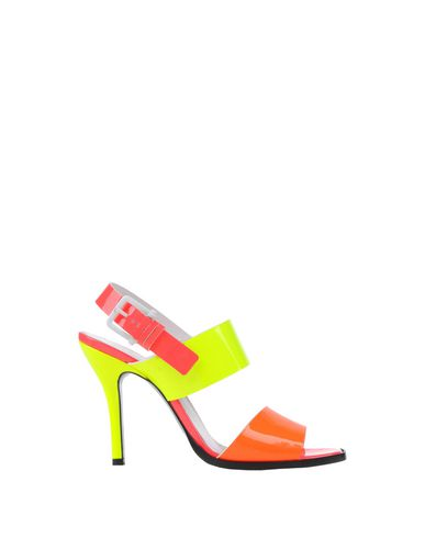 Jil Sander Sandals In Orange
