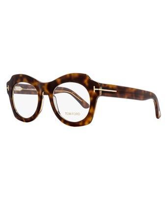 02aa0ad8200a Tom Ford Oval Eyeglasses Tf5360 056 Size  49Mm Havana Crystal Ft5360 ...