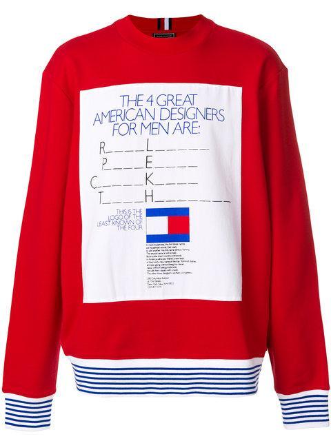 9f2aa7cad Tommy Hilfiger George Lois Ad Sweatshirt | ModeSens