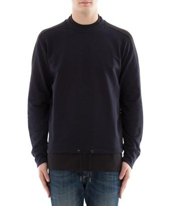 Diesel Black Gold Men's  Blue Cotton Sweatshirt