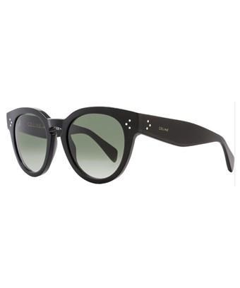 b64018b9bb51 CELINE. Celine Oval Sunglasses Cl41049S 807Xm Black 41049