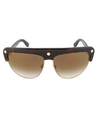 Tom Ford Ft0318 52G Liane Shield Sunglasses - Tortoise Brown Frame | Brown Gradient Lens