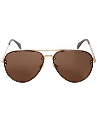 a14910bcd2bab CELINE. Celine Aviator Sunglasses Cl41391S J5Glc Gold Havana 60Mm 41391