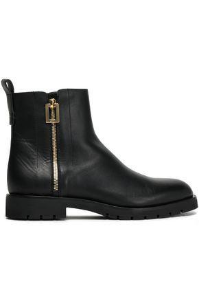 Roger Vivier Woman Leather Ankle Boots Black