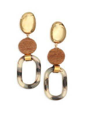 Lizzie Fortunato Element Drop Earrings In Multi