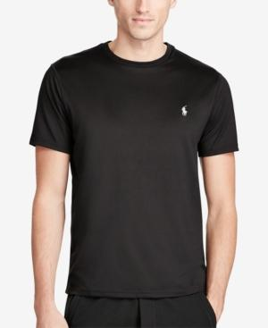 Polo Ralph Lauren Men's Big & Tall Classic Fit Active T-Shirt In Polo Black