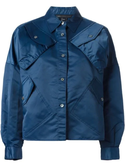 Marc By Marc Jacobs Utility Jacket In Blue