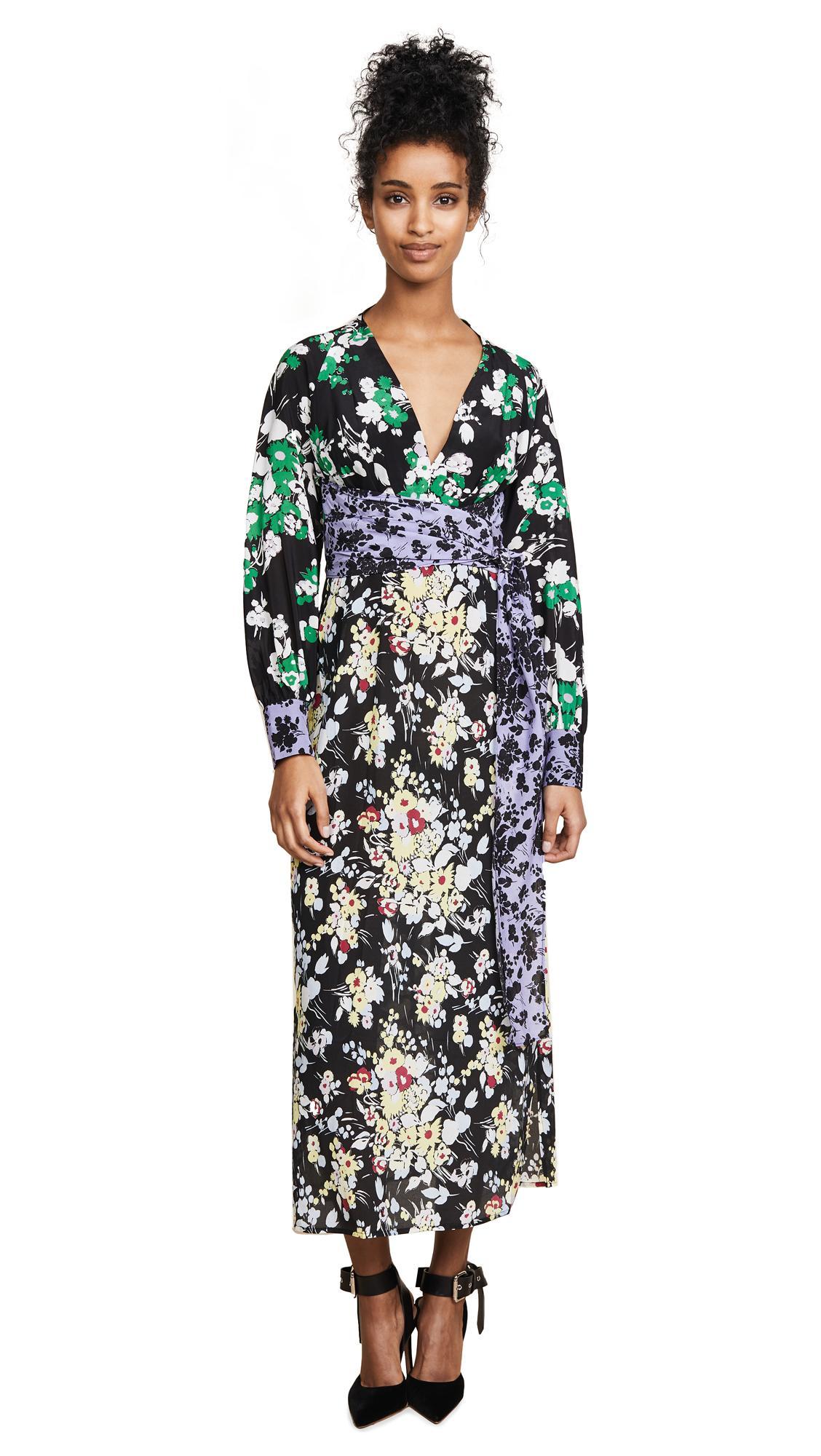 443f7cf30f9 Rixo London Fedora Dress In Mixed 30's Bunch Floral | ModeSens