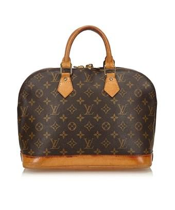 Louis Vuitton Pre-owned: Monogram Alma Pm In Brown