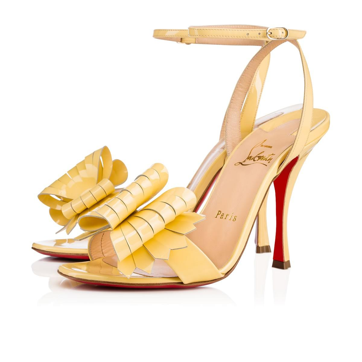 0c2fc915e24 Christian Louboutin Miss Valois Patent In Vanille