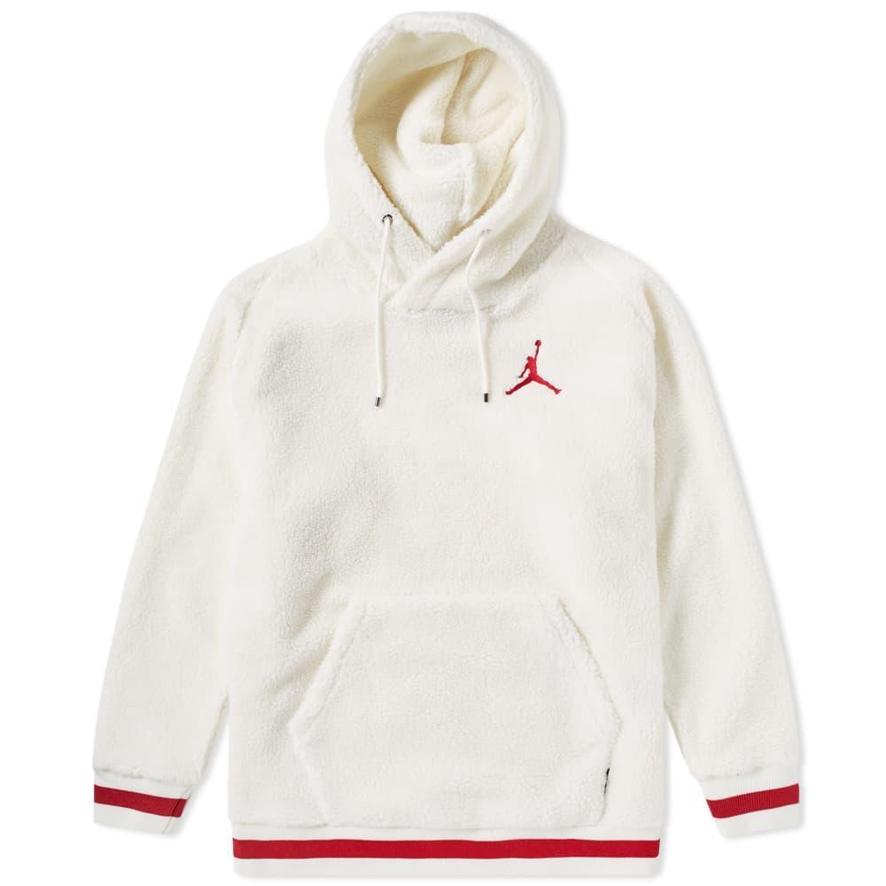 377e29af9400 Nike Air Jordan Sportswear Aj 1 Fleece Hoody In White