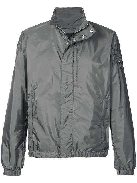 d71ddd167f88 Prada Classic Windbreaker Jacket - Grey. Farfetch