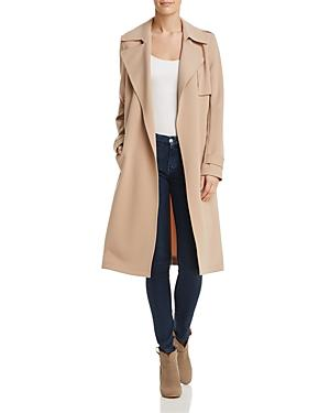 f59510209c Theory Oaklane Admiral Crepe Trench Coat - 100% Exclusive In Nude Khaki