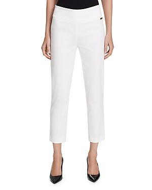 Calvin Klein Cropped Pants In Soft White