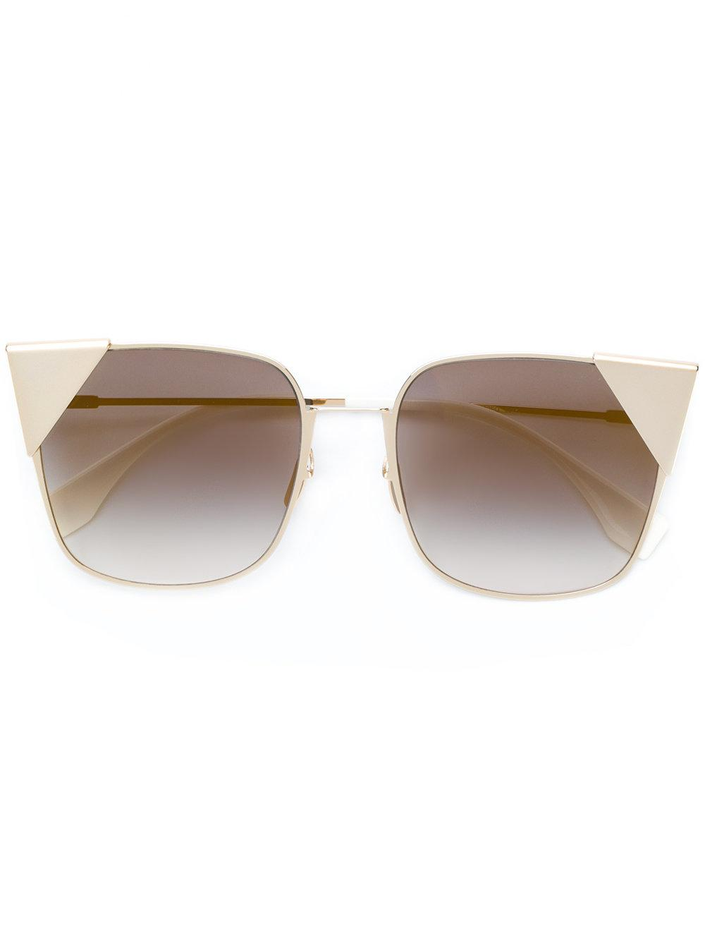 fb882ad7c8eac Fendi Eyewear Lei Sunglasses - Farfetch In 000Fq
