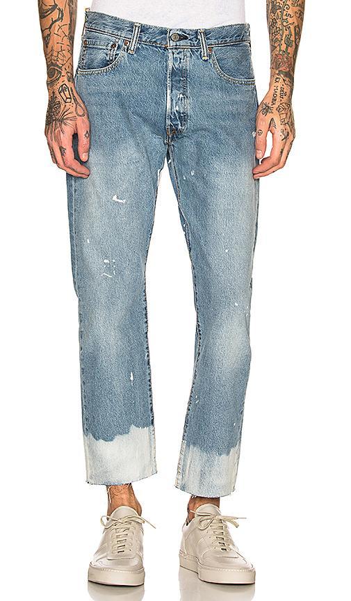 05b16c64975 Levi's 501 Cut Off Crop Jeans In Baez | ModeSens