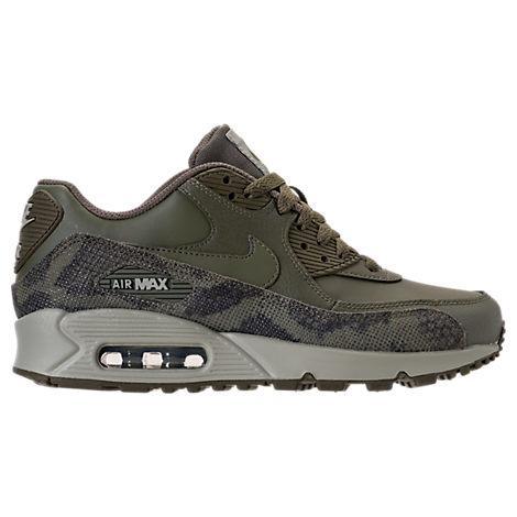 0793c65cc7 Nike Women's Air Max 90 Premium Running Shoes, Green | ModeSens