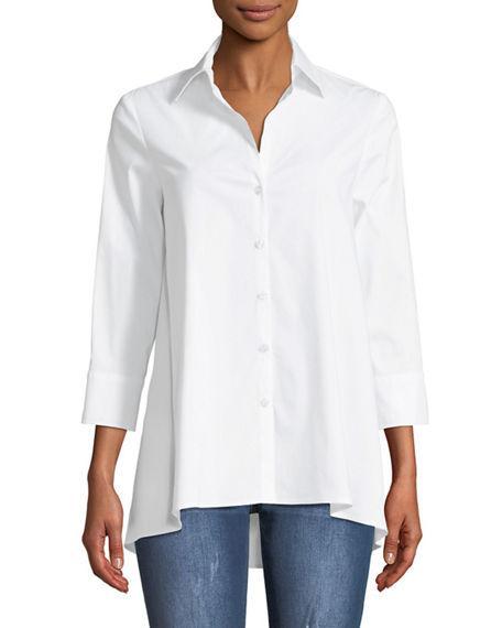 7725b3ad5b759 Finley Trapeze 3 4-Sleeve Swing Shirt