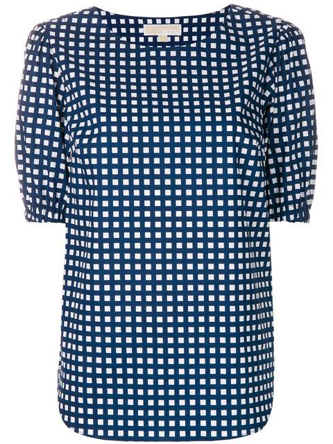 Michael Michael Kors Checked Design Blouse