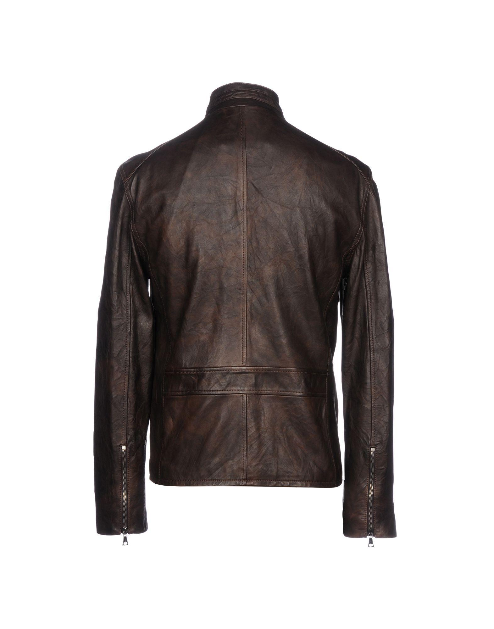 John Varvatos Jackets In Dark Brown