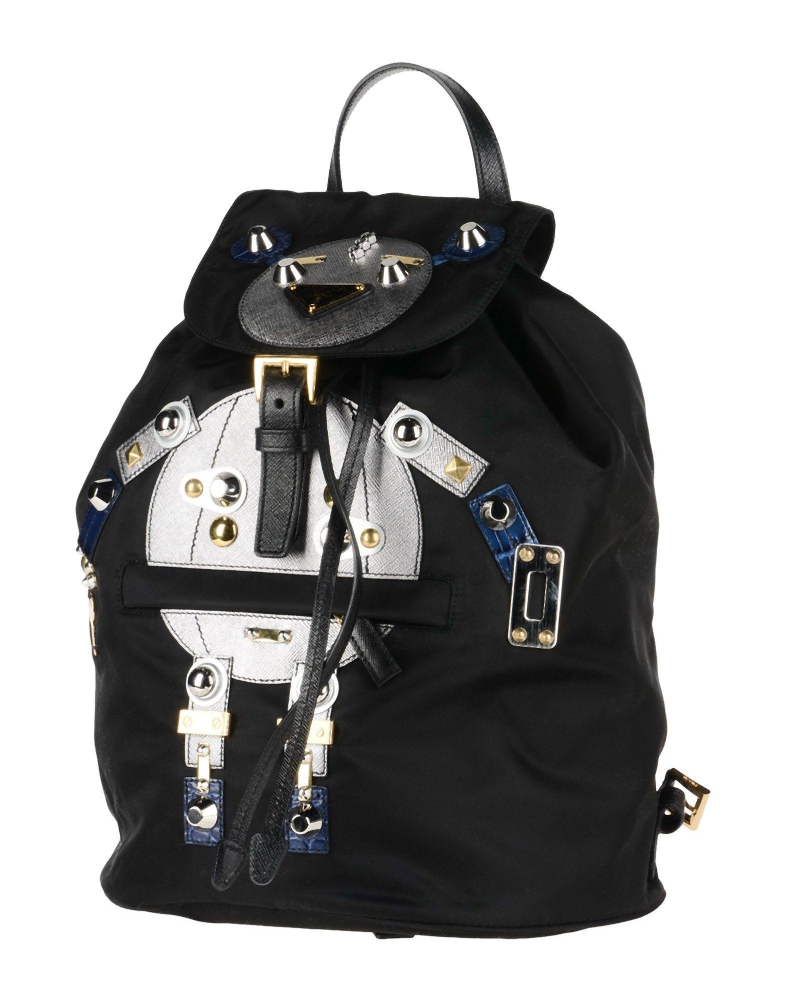 9fa99e371e Prada Backpacks & Fanny Packs In Black | ModeSens