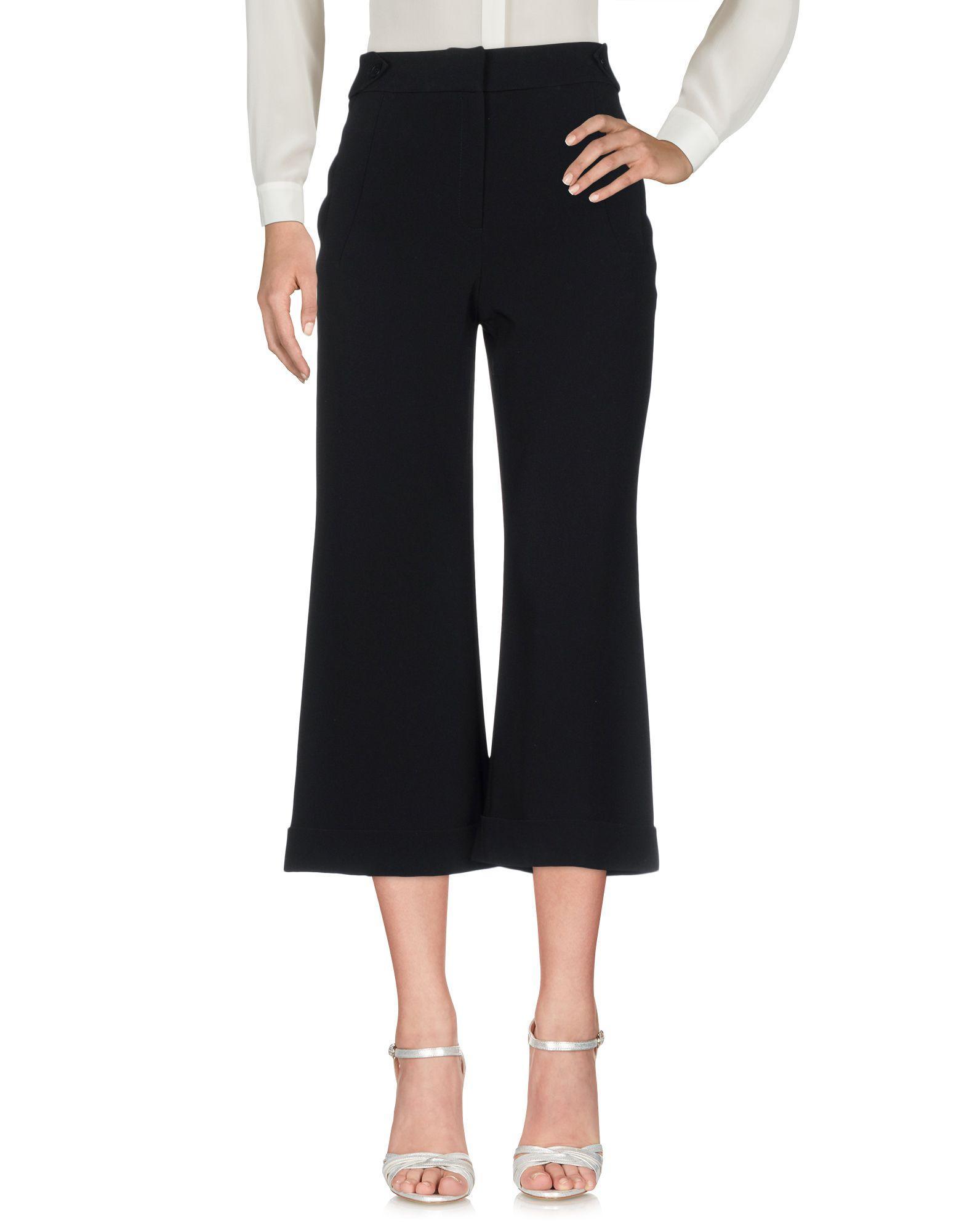 Karen Millen 3/4-length Shorts In Black