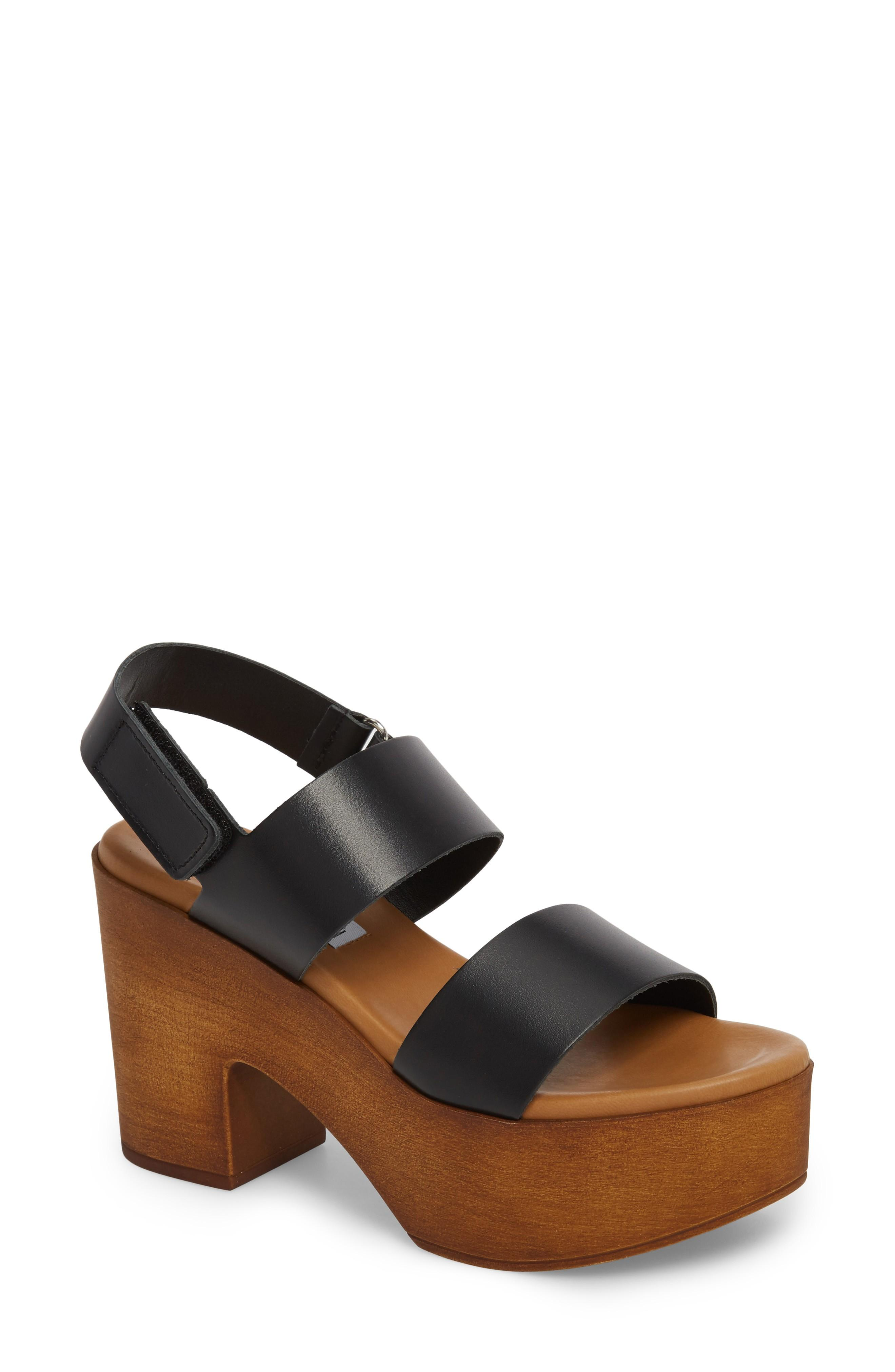 74759c93923 ... retro attitude of a sandal styled simply with bold bridge straps and an  adjustable slingback. Style Name  Steve Madden Marena Slingback ...