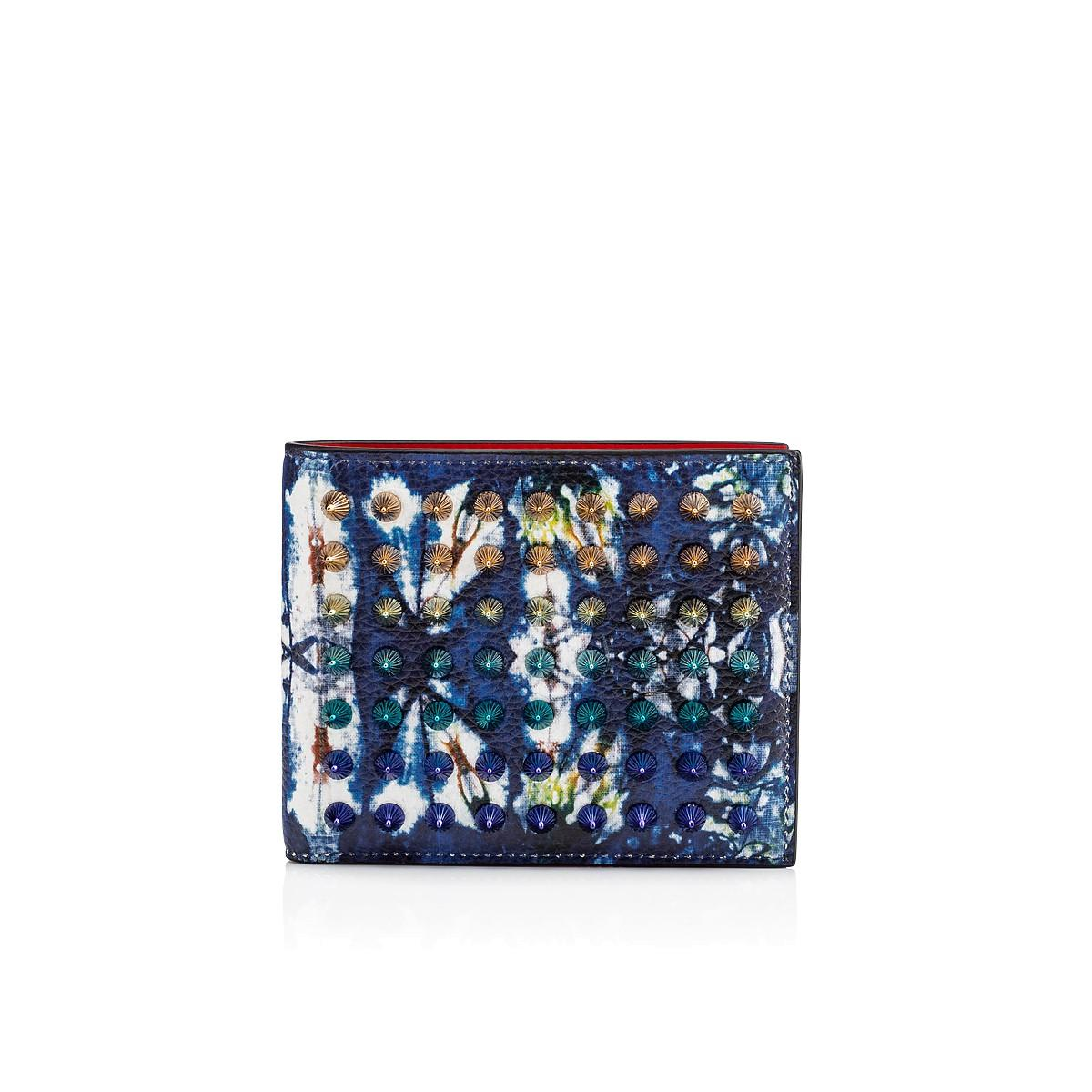Christian Louboutin Coolcoin Wallet In Blue