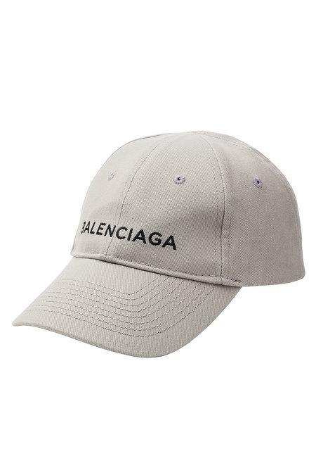 2c81d609ea7ecb Balenciaga New Baseball Cap In Grey | ModeSens