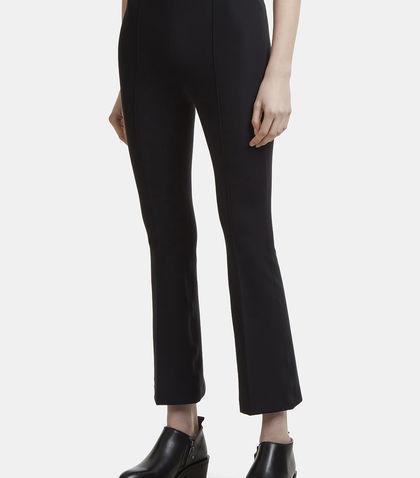 664541d73a1fe3 Helmut Lang Slim Flared Legging Pants In Black | ModeSens