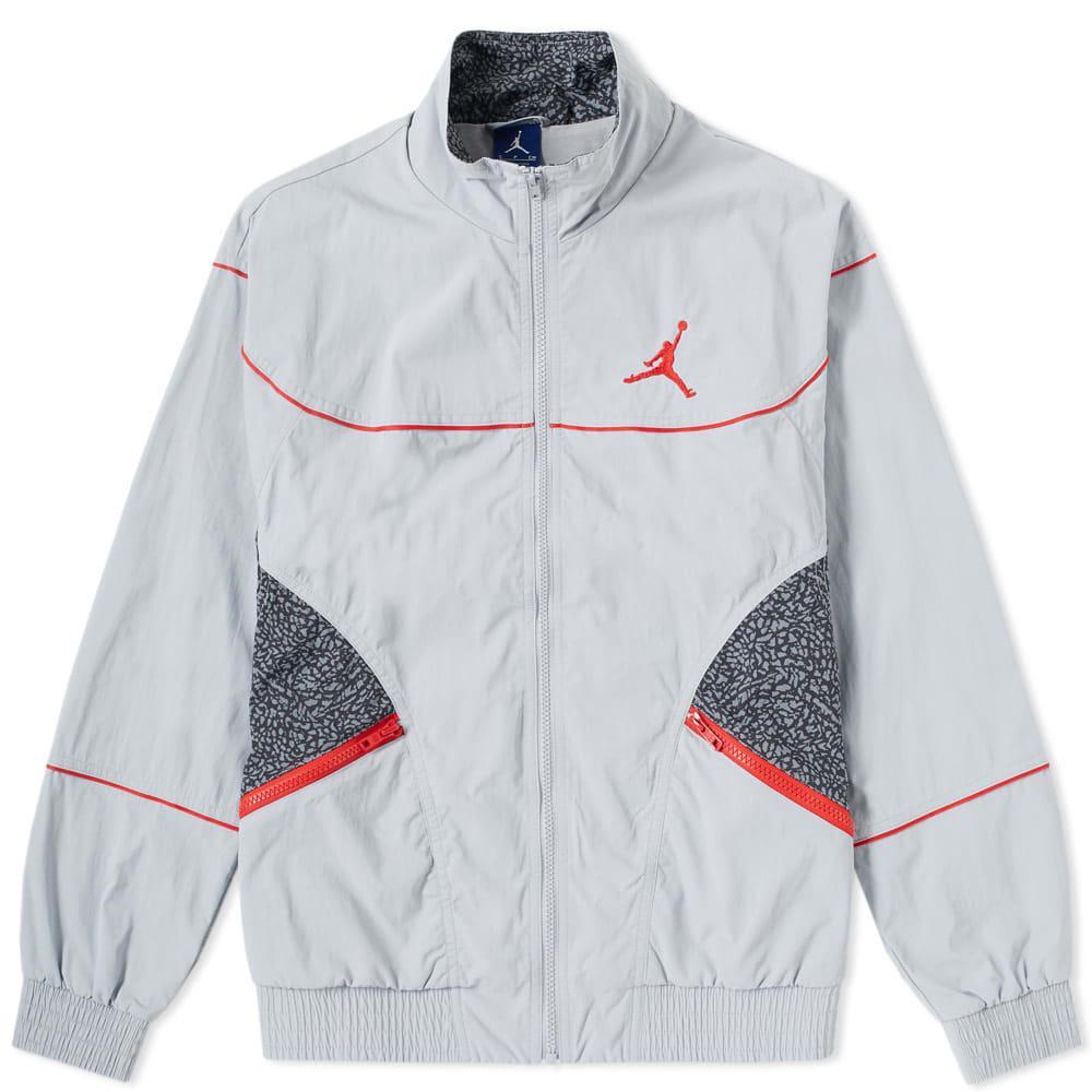 bd5ef2ce023 Nike Jordan Aj 3 Woven Vault Jacket In Grey | ModeSens