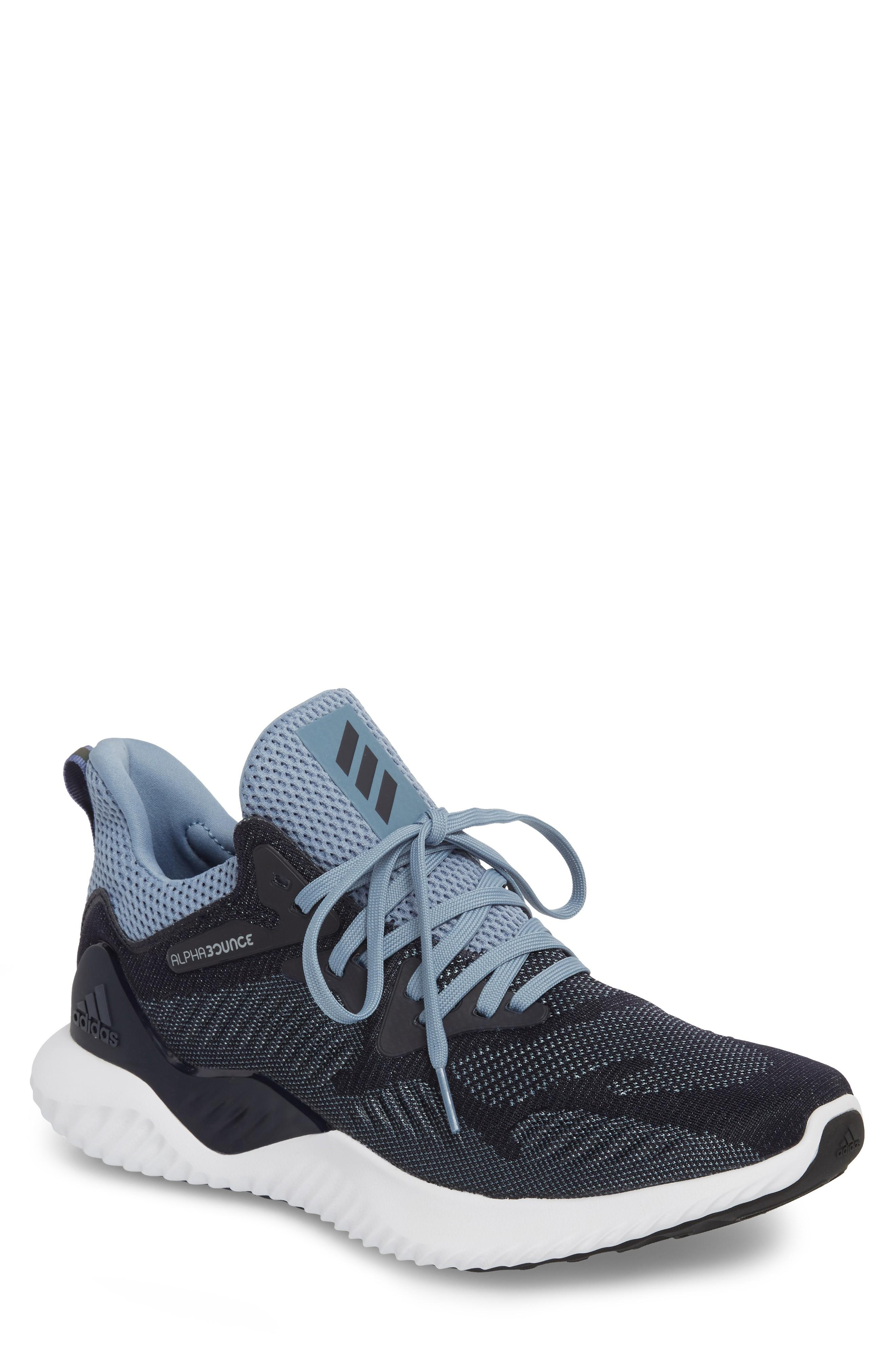 2bd110f1968b0 Adidas Originals Alphabounce Beyond Knit Running Shoe In Legend Ink ...