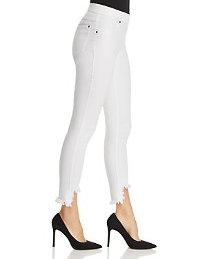 f99755b465b805 Hue Shipwrecked Denim Skimmer Leggings In White | ModeSens