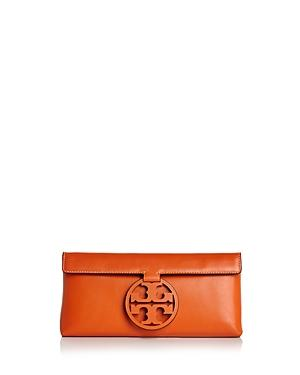 23c7e2fd095e83 Style Name  Tory Burch Miller Leather Clutch. Style Number  5541341.  Available in stores.