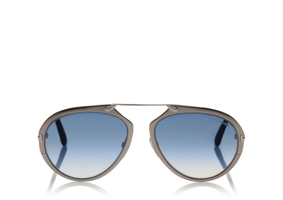 e82e214f046 Tom Ford Dashel Sunglasses In Ruthenium