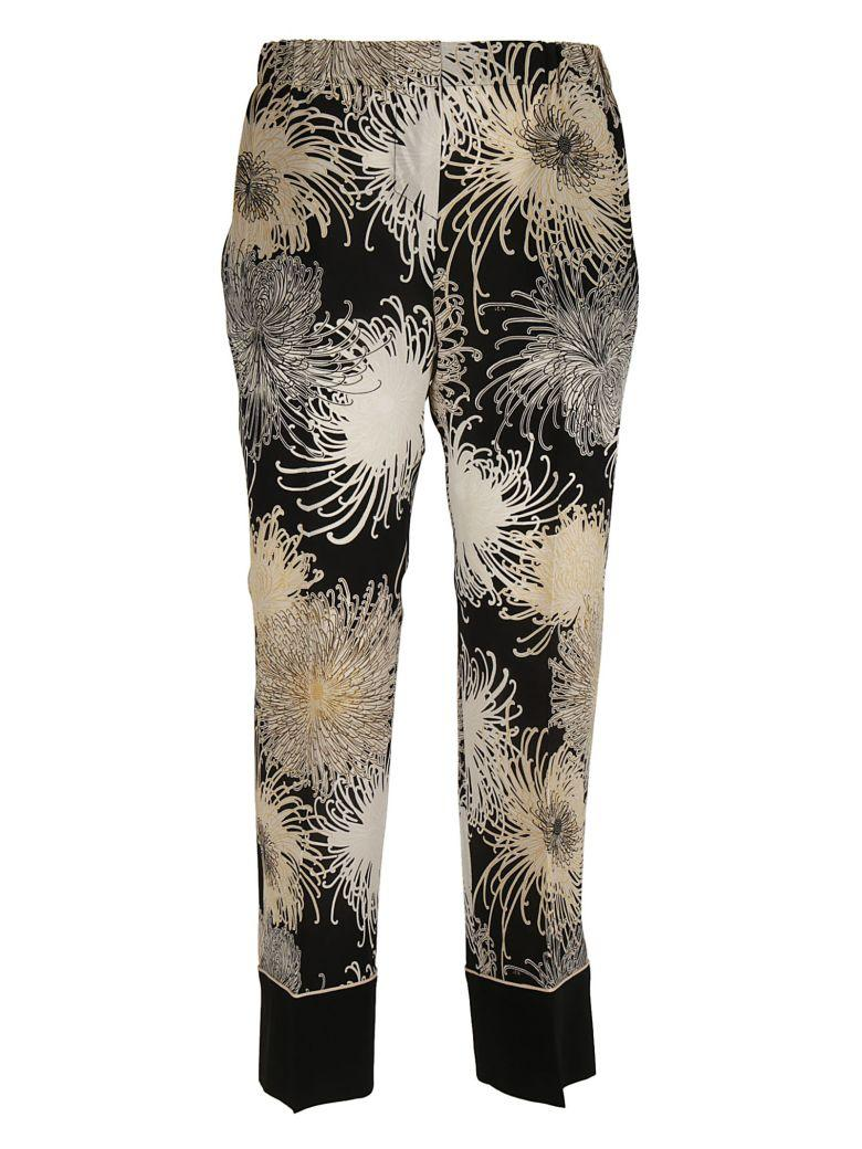 N°21 N21 Printed Trousers In Multicolor