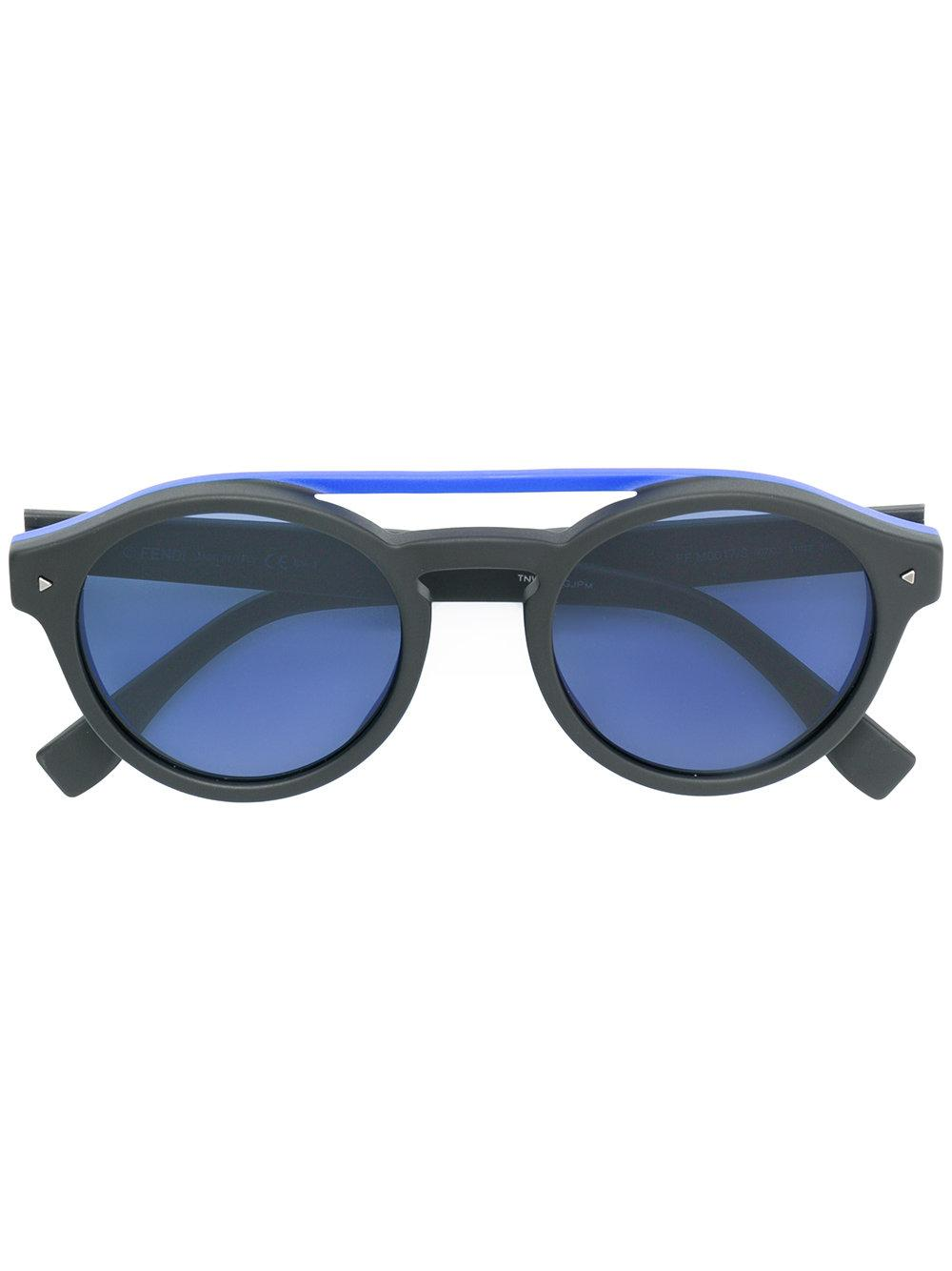 497b0410291 Fendi Eyewear Tinted Round Sunglasses - Grey